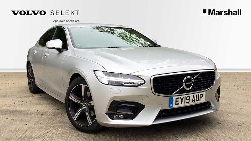 Volvo S90 D4 (200bhp) POLESTAR R-Design Automatic, (Winter Package, Park Assist, Adaptive Cruise, Lane Assist)