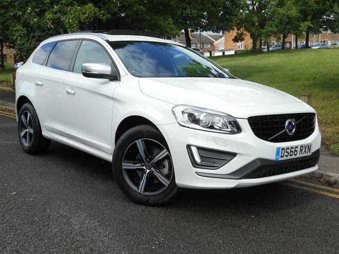 Volvo XC60 D5 AWD R-Design Lux Nav Geartronic, Nav, Winter Pack, Pan Roof, Tints, DAB, Xenons, Rear Camera, BLIS, Cruise & MORE