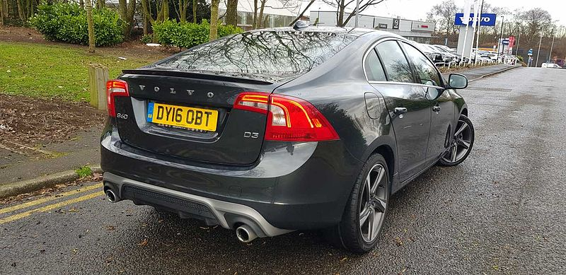 Volvo S60 D3 R-Design Nav Automatic *0% FINANCE THIS WEEKEND*