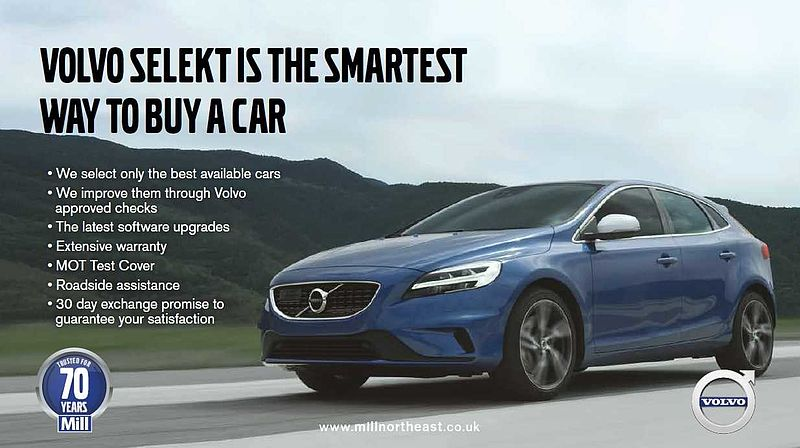Volvo V40 D2 2.0 R-Design Manual (Heated Front Seats, Heated Windscreen, Sports Seats, DAB, Bluetooth) )