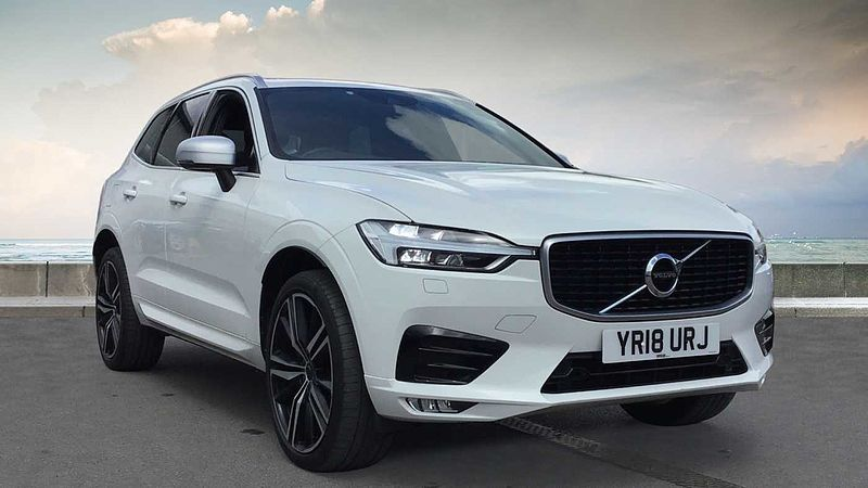 Volvo XC60 II D4 R-Design Pro Manual (MY18.5)
