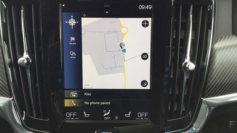 Volvo V90 D4 R-Design Pro Automatic, Apple Car Play, Rear Camera, Carbon Inlays