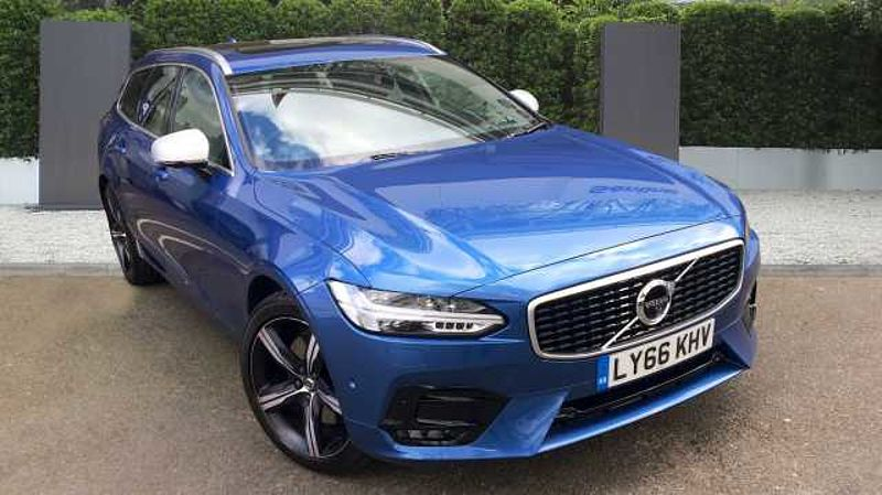 Volvo V90 D5 R-Design + B+ W+ Xenium Pack + Air Suspension + Head Up Display + Family Pack
