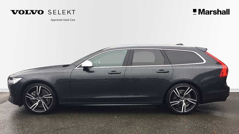 Volvo V90 T5 (250) R-Design Pro Auto, PANORAMIC GLASS SUNROOF, XENIUM PACK, Apple Car Play, BLIS, HEAD-UP DISPLAY IN WINDSCREEN, On-Call & App
